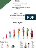 DESENVOLVIMENTO BIOLÓGICO DA MULHER - MÓDULO II