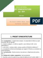 projet d'archi G2 BTP