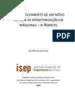 Dissertação Desenvolvimento de um novo sistema de monitorização de máquinas b-Remote