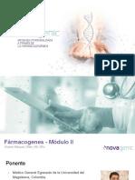 Farmacogenes - Módulo 2 - Novagenic