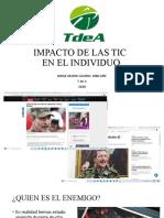 impacto de las TIC en el individuo