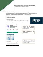 MANUAL DE DESCARGA DEL TOKEN PARA EL ACCESO CON DOBLE FACTOR DE AUTENTICACIÓN EN VPN PULSE SECURE.pdf