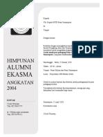 Surat Alumni