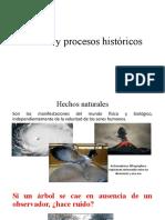 Hechos y procesos históricos
