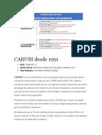 CARUBI desde 1991