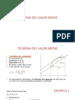 Teorema Del Valor Medio1