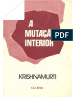 Krishnamurti - A mutacao interior