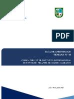 Perú en el contexto_10ma, GUIA