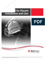 XcelEnergy_Standard_For_Electric_Installation_and_Use2014