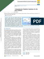 Arilaciones oxidativas intramoleculares catalizadas con paladio para el Síntesis de biaril sulfonas fusionadas