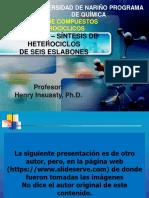 HETEROCICLOS DE SEIS-SÍNTESIS