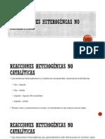VI Reacciones Heterogéneas No Catalíticas