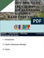DISEÑO DE ESTRUCTURAS METALICAS USANDO SAP2000 Y RAMCONNECTION