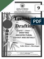 Technical Drafting 9 Q1W1