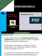 TERMODINAMICA 2019-1 - 2Sustancia Pura.pptx