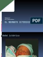 EL NEONATO ICTERICO