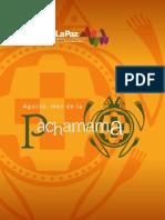 Cartilla Agosto mes de la Pachamama