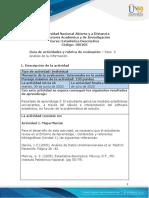 Guía de actividades y rúbrica de evaluación - Unidad 1 - Paso 3 – Análisis de la información (1).pdf