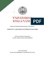 EJERCICIO Y SARCOPENIA EN PERSONAS MAYORES R.S.