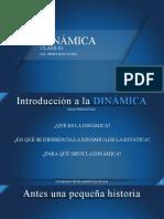 Clase 01 Dinámica de la partícula