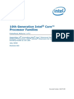 10th Gen Core Families Datasheet Vol 1 Datasheet