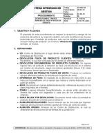 CO-PRO-06 Devoluciones Canjes y Diferencias de Peso MOD 07072014