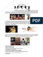 NATURE OF DANCE
