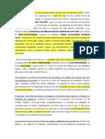 Imposición de Captura,Declinatoria y LIBERTAD.doc