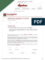 Justificando a ilegalidade – É correto_ - Gramatigalhas.pdf