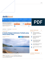 5 Cerita Rakyat Indonesia Terbaik yang Perlu Kamu Tahu