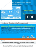 Online CRM in the Pharmaceutical Industry - Challenges and Success Factor