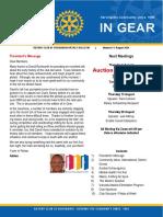 In Gear Week 6 3 August 2020