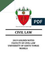 2019-Golden Notes-Civil Law.pdf
