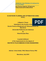 5G Network Planning and Optimization Using Atoll - Master's Thesis - Riviel Rios
