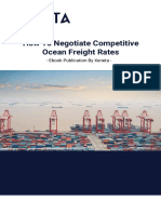 How To Negotiate Competitive Ocean Freight Rates-