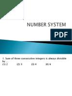 NUMBER SYSTEM BCOM