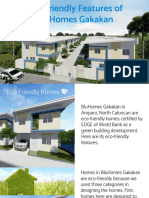 Eco-Friendly Features of BluHomes Gakakan