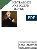 Contrato Haydn