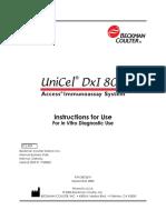 DXI 800 Operation Manuel