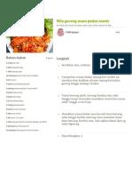 Resep Nila goreng asam pedas manis oleh Indirapupu - Cookpad