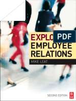 Exploring Employee Relations, Second Edition An International Approach by Mike Leat