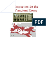 A Glimpse inside the art of ancient Rome