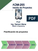 ADM-200. Planificacion de Proyectos