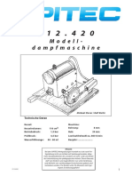 Opitec Dampfmachine