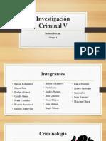 Investigación Criminal V