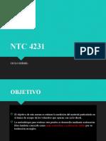 EXPOSICION NTC 4231
