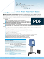 BGD 152-1S Intelligent Touch-screen Rotary Viscometer(Basic)