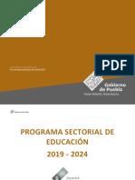 09 Programa Sectorial de Educacion
