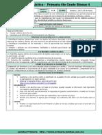 Plan 4to Grado - Bloque 4 Ciencias Naturales (2017-2018)