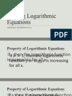 Solving-Logarithmic-Equations